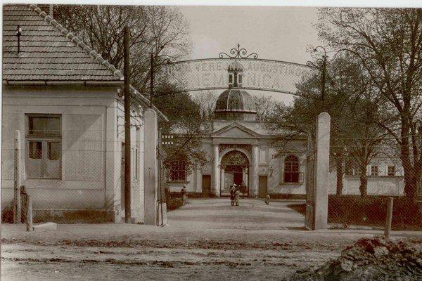 Nemocničná kaplnka bola kedysi vstupnou bránou do nemocnice.