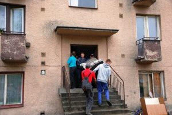 Na Moyzesovej ulici v Čadci deložovali už viacero nájomných bytov.
