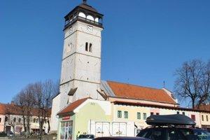 Strážna veža v Rožňave.