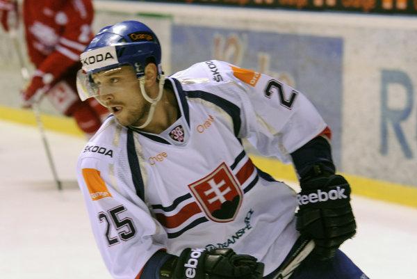 Marek Hovorka odohral niekoľko zápasov aj v národnom drese.