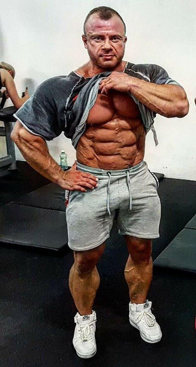 Andrej Mozoláni sa tvrdo pripravuje na veľkú súťaž.
