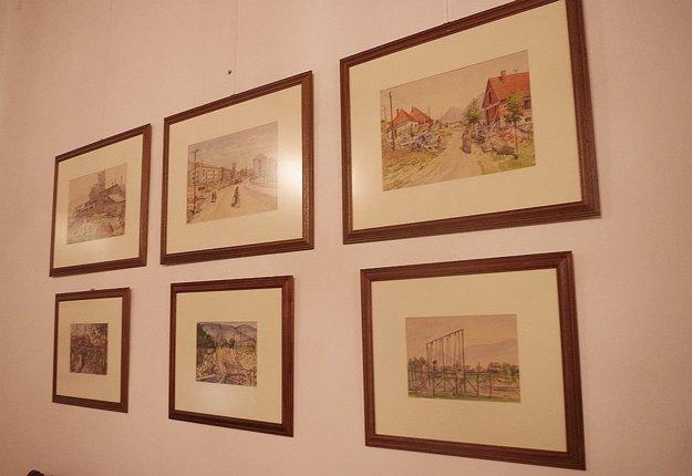 Na výstave môžu vidieť návštevníci diela, ktoré zachytávajú starú Považskú Bystricu a to ako v nej pulzoval život pred rokmi. Všetko zachytené s citom a poetikou charakteristickou pre I. W. Kráľa.
