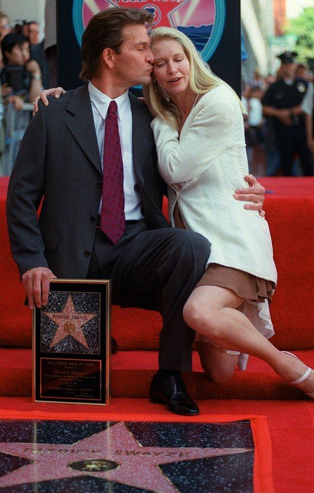 V roku 1997 s manželkou Lisou, keď na Chodníku slávy obdržal svoju hviezdu