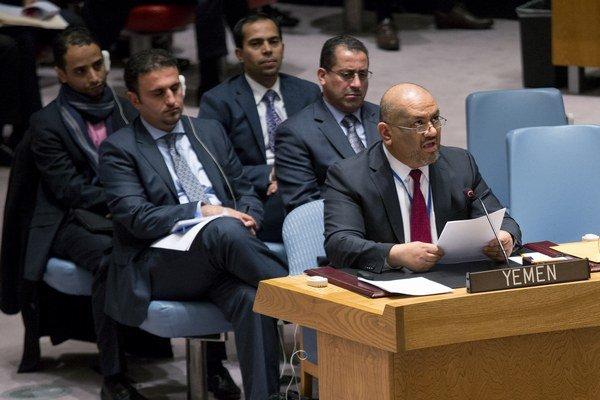 Stály zástupca misie OSN pre Jemen Chálid Husajn Al Jemany.