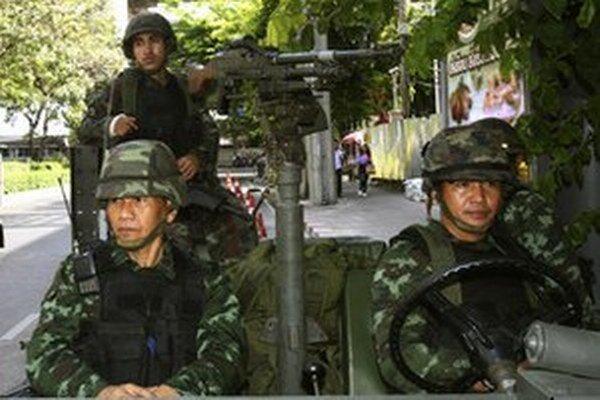 Thajská armáda.