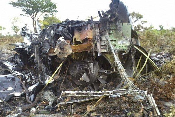 Mozambické lietadlo spadlo v Namíbii.
