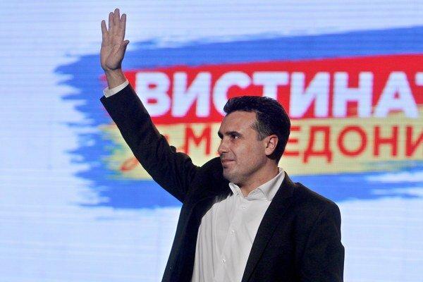 Macedónsky opozičný líder Zoran Zaev.