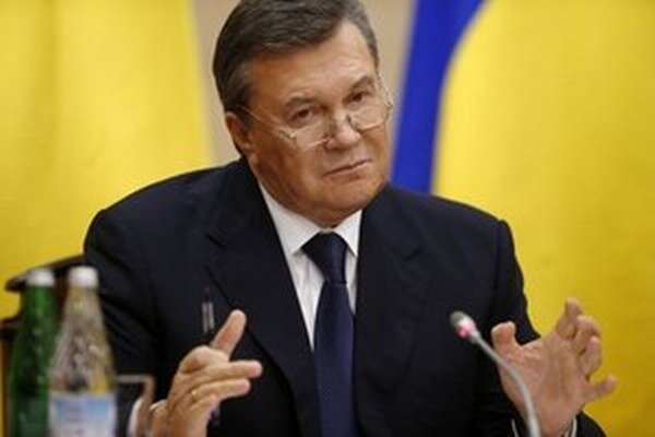 Zosadený ukrajinský prezident Viktor Janukovyč.