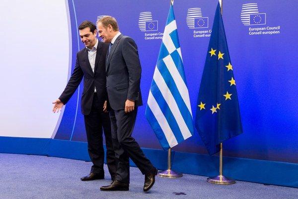 Keď Tsipras začiatkom februára navštívil Brusel, vyzeralo to, že si s európskymi lídrami rozumie. Na summite sa ukáže, či to ešte platí.