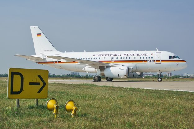 German Air Force A319.