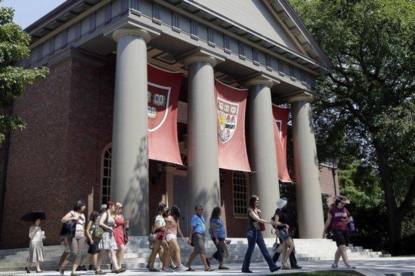 Prvé miesto už po piatykrát v rade obsadil Harvard.