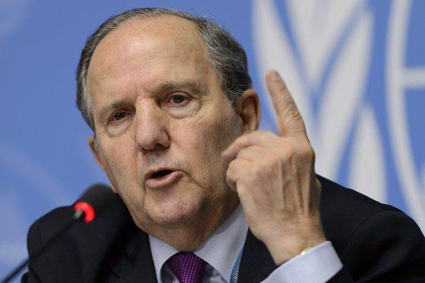 Špeciálny reportér Rady OSN pre ľudské práva Juan E. Mendez.