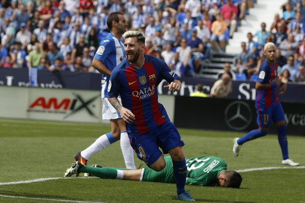 Kanonádu odštartoval Lionel Messi.