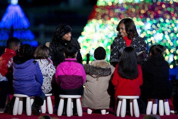 Prvá dáma USA Michelle Obama.