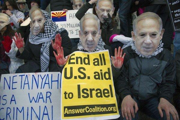 Americká verejnosť čoraz menej podporuje Izrael.