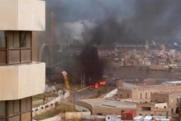 Útok na hotel v líbyjskom Tripolise z minulého týždňa.