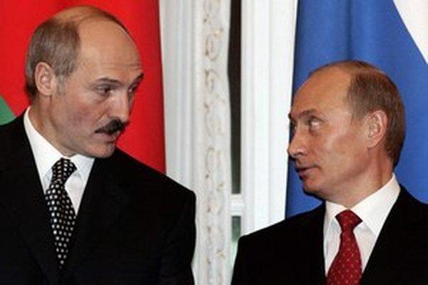 Lukašenko a Putin.