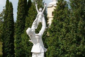 Pamätník oslobodenia v Kalinove.