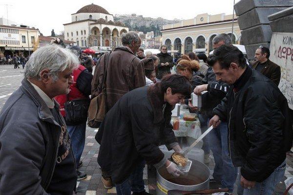 V Grécku vznikli od krízy stovky dobrovoľnícky združení.