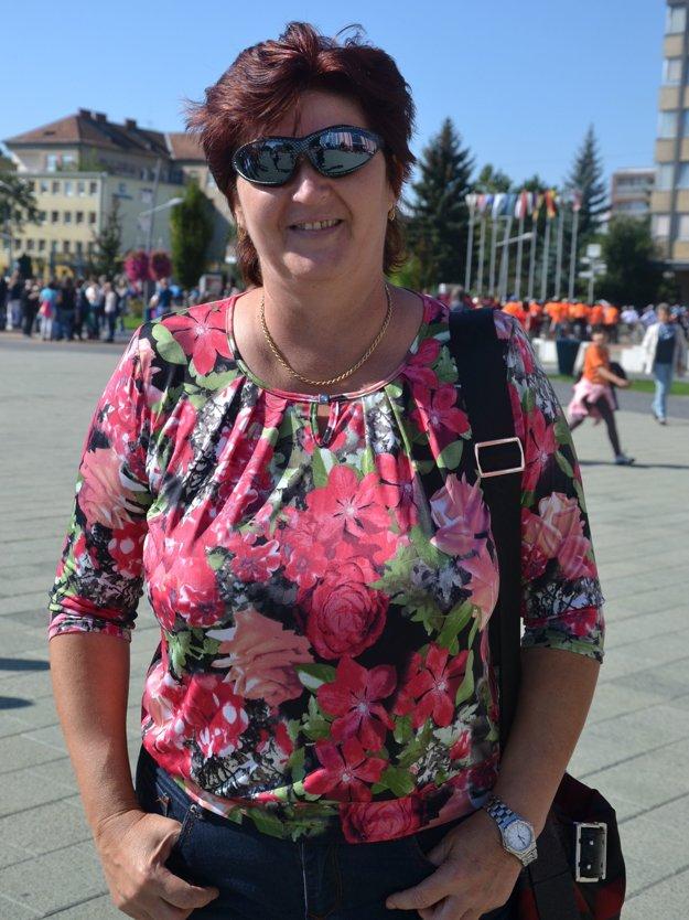 Jana Dudášová, riaditeľka Základnej školy L. Novomeského v Lučenci.