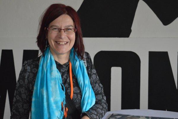 """Koordinátorka Programu rozvoja rómskych komunít z Nadácie Ekopolis Martina Paulíková: """"Bola by som veľmi rada, keby sa štátne orgány týmito projektmi inšpirovali."""""""
