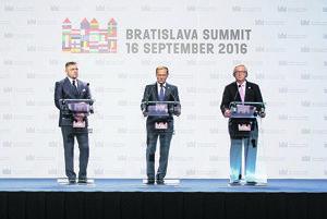 Summit v Bratislave.