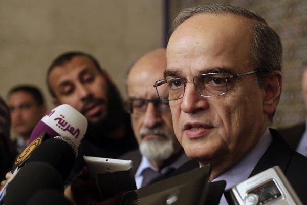 Predseda sýrskej Národnej koalície Hadi Bahra.
