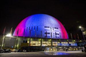Švédsko - Štokholm, Ericsson Globe aréna.