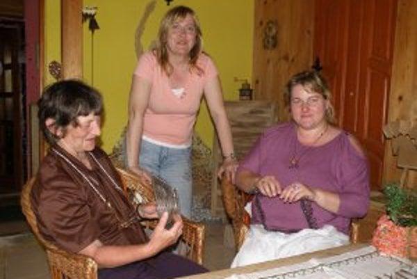 Zľava: Mária Hlocká, Zdenka Slobodová a Ingrid Zavacká.