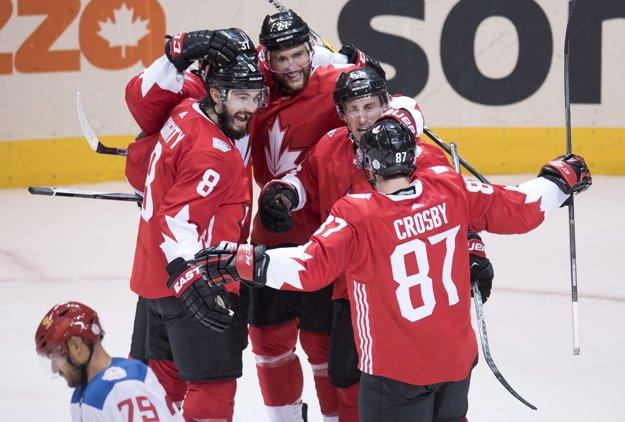 Kanadskí hokejisti sú na Svetovom pohári bezchybní.