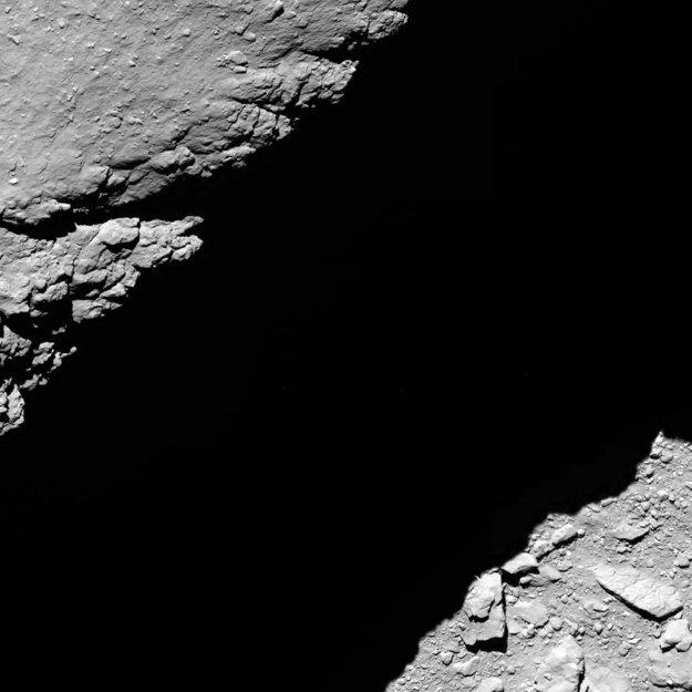 Záber z výšky 1,2 kilometra. Jeden pixel na snímke predstavuje 2,3 centimetra a záber pokrýva plochu tridsiatich metrov.