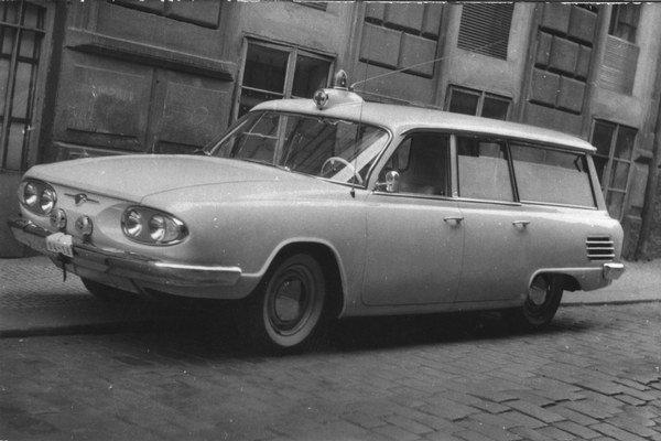 Tatra 603 A Sanitka z roku 1963.