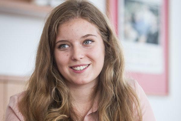 Dominika Ďurovčíková vďaka výsledkom medzinárodnej maturity bude študovať na Oxforde.
