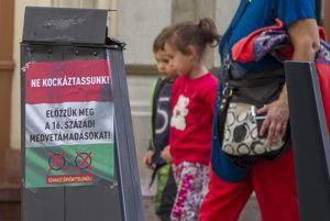 Referendová kampaň v Maďarsku.