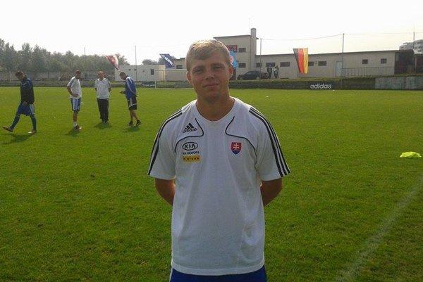 Futbalista MFK Topoľčany - Marek Švajlen.