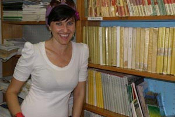Spisovateľka, maliarka a bibliografka Vanda Rozenbergová.