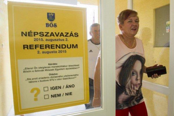 Miestne referendum  príchod imigrantov do obce odmietlo.