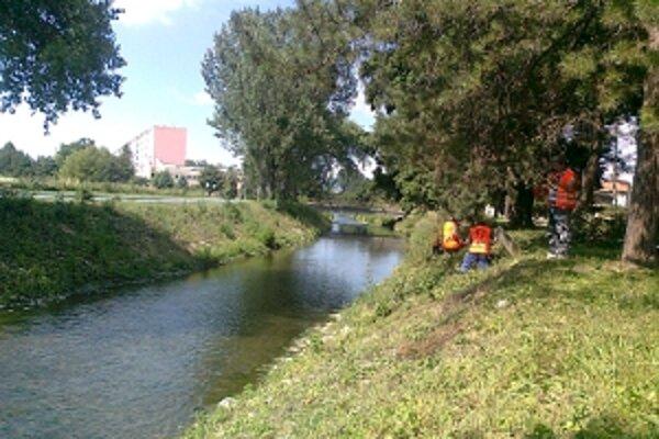 Čistenie brehov pomôže znížiť riziko vybreženia rieky.