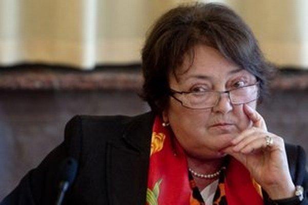 Ľudmila Benkovičová.