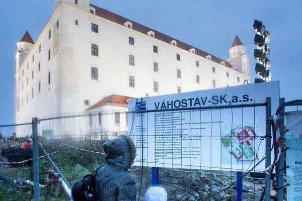 Zákazku za 63 mil. eur na rekonštrukciu Hradu získal  Váhostav Juraja Širokého.