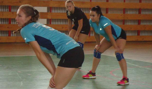 Andrea Žírošová (v popredí) je oporou Slovana.