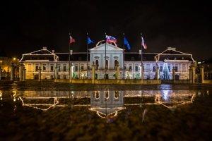 Prezidentský palác v Bratislave.
