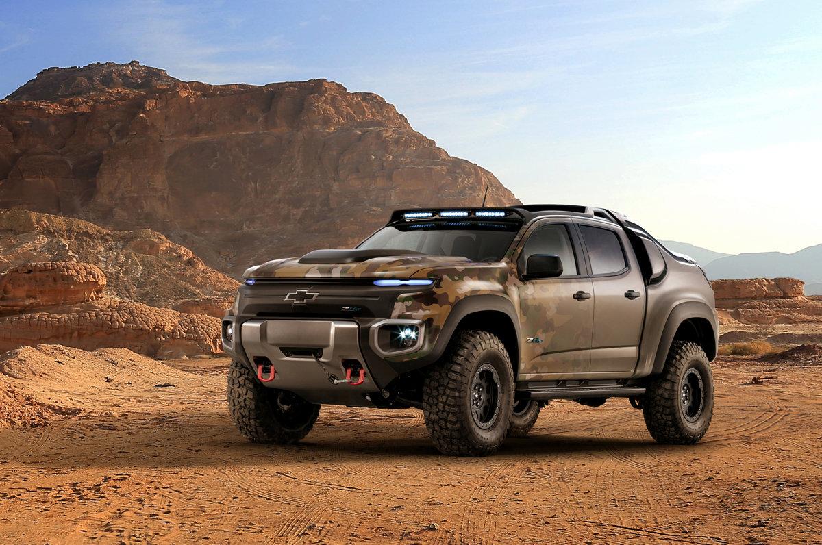 4b6384549 Vodíkový Chevrolet Colorado ZH2 mieri do rúk americkej armády - Auto SME