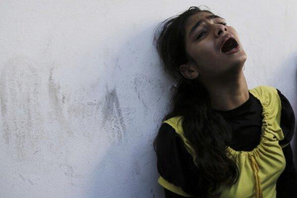 Gaza je pod paľbou už vyše mesiac.