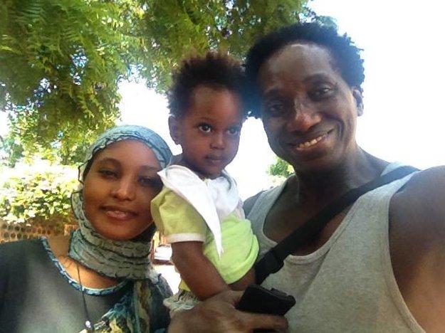 Šťastní Maigovci. Okrem dcérky Fatim už má Ibrahim aj syna.