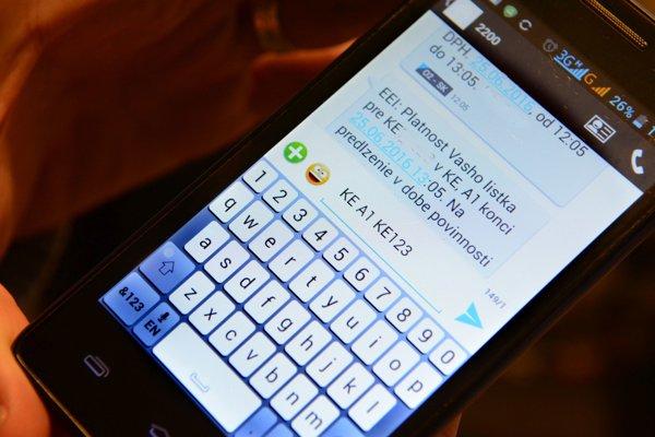 Platenie cez SMS. VKošiciach to využíva podľa prepočtov okolo tretiny vodičov.