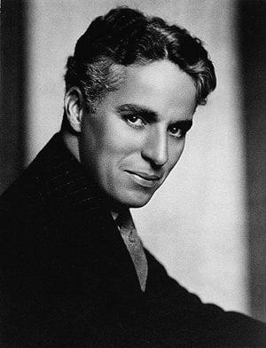 Charlie Chaplin v civile.
