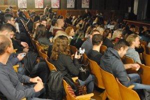 Kino Scala privítalo množstvo návštevníkov.