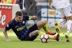 Kapitán Interu Miláno Mauro Icardi.