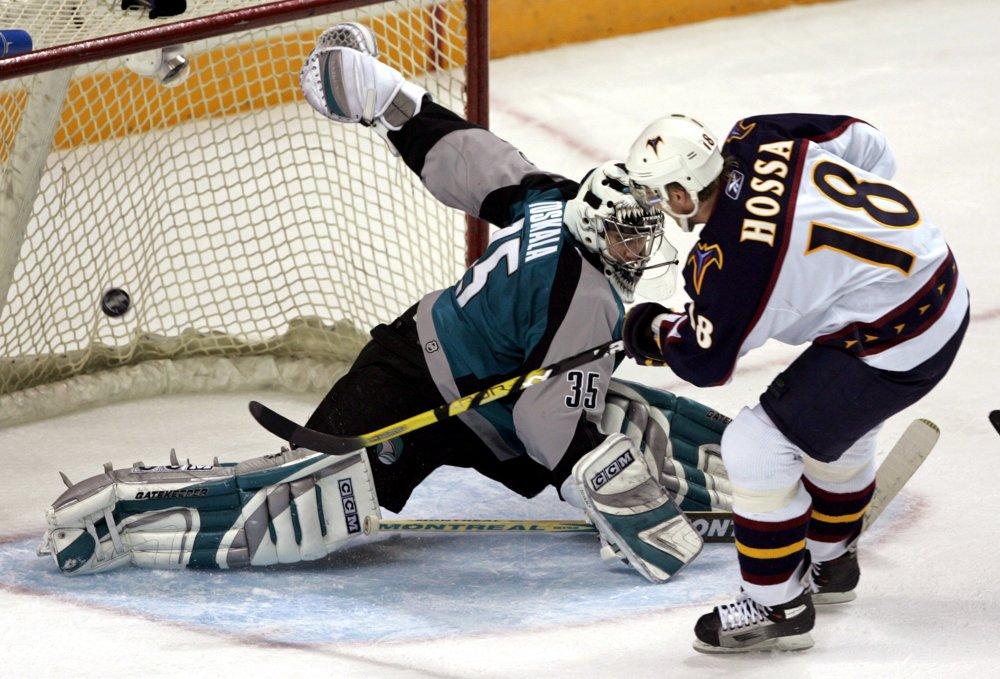 Po nečakanej výmene sa v roku 2005 stal hráčom Atlanty. V jej drese dosiahol v sezóne 2006/07 svoje bodové maximum v NHL - 100 bodov.